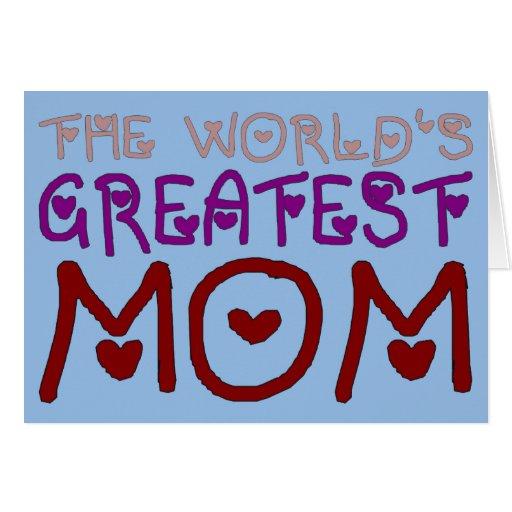 El día y el cumpleaños de madre más grande de la m felicitaciones