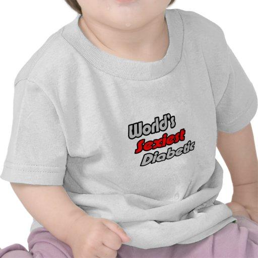El diabético más atractivo del mundo camisetas