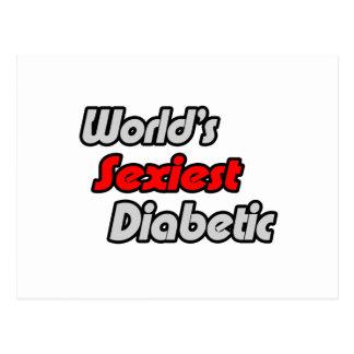 El diabético más atractivo del mundo postal