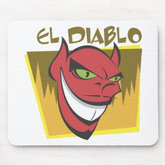 El Diablo Devil Mouse Pad