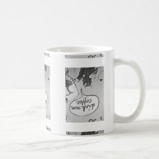 El diablo dice la bebida más taza de café
