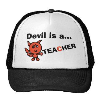 El diablo es… PROFESOR Gorros