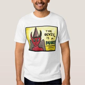 El diablo es una camiseta del tonto por Mandee Polera