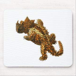 El diablo espinoso tapetes de raton