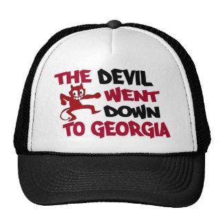El diablo fue abajo a Georgia Gorro De Camionero