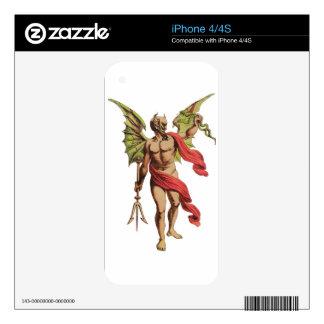 El diablo iPhone 4 skins