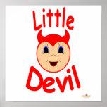 El diablo Kiddo hace frente al pequeño diablo Posters