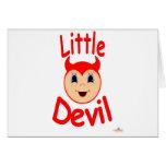 El diablo Kiddo hace frente al pequeño diablo Tarjeton