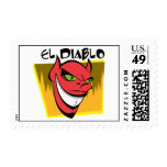 El Diablo Postage Stamp