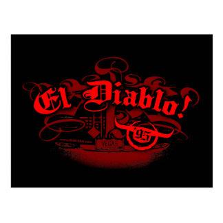 El Diablo Postcard