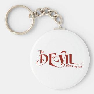 El diablo quiere mi alma llaveros personalizados