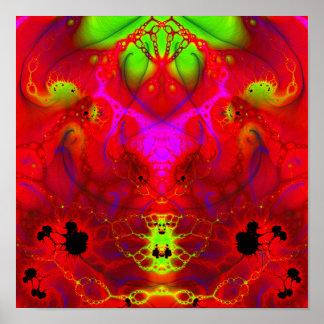 """El Diablo: The Devil (12"""" x 12"""") Art Print Poster"""