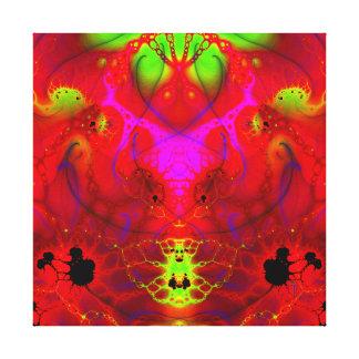 El Diablo: The Devil  Wrapped Canvas Print