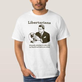 El diagrama libertario playera