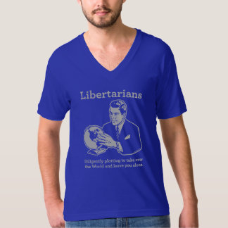 El diagrama libertario remera