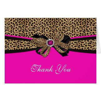 El diamante artificial rosado de la gema del tarjeta de felicitación
