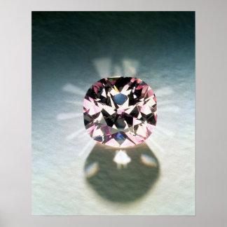 El diamante de Agra Póster