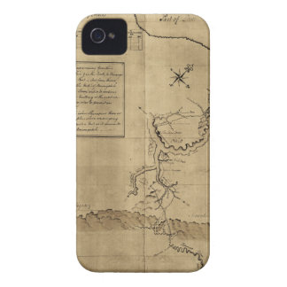 El diario de George Washington al Ohio 1754 Case-Mate iPhone 4 Cobertura