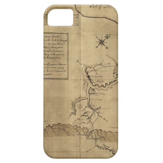 El diario de George Washington al Ohio 1754 iPhone 5 Protector