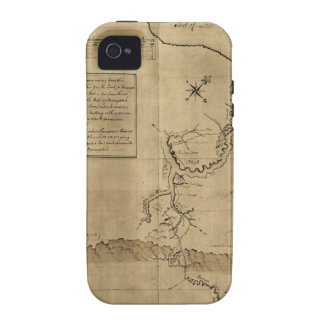 El diario de George Washington al Ohio 1754 Vibe iPhone 4 Fundas