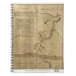El diario de George Washington al Ohio 1754 Libro De Apuntes Con Espiral