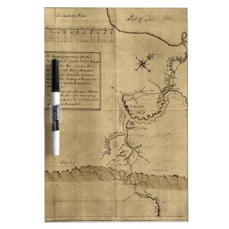 El diario de George Washington al Ohio 1754 Tablero Blanco