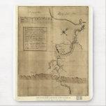 El diario de George Washington al Ohio 1754 Tapetes De Raton