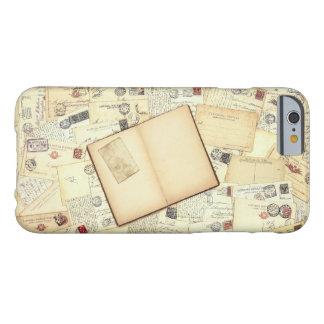 El diario del viajero funda para iPhone 6 barely there