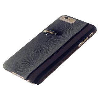 El diario temático, una pluma descansa sobre BO Funda Para iPhone 6 Plus Barely There