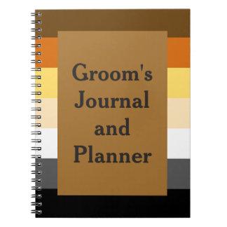 El diario y el planificador del novio del oso para notebook