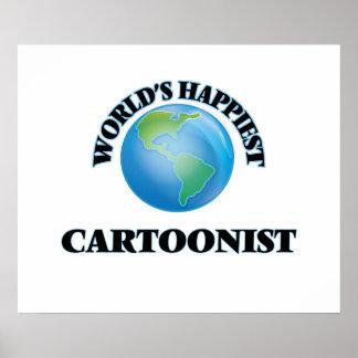 El dibujante más feliz del mundo póster