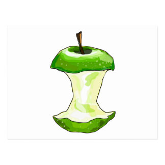 El dibujo animado Apple verde (granny smith) Apple Postal