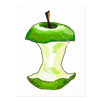 El dibujo animado Apple verde (granny smith) Apple Tarjetas Postales