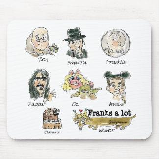 El dibujo animado divertido franquea mucho Mousepa Alfombrillas De Ratones