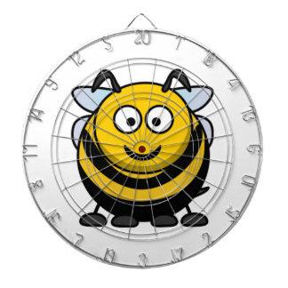 El dibujo animado grande manosea la abeja