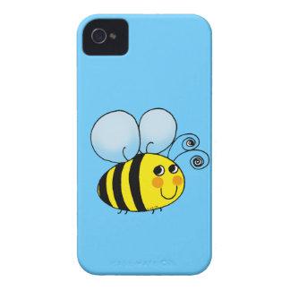 El dibujo animado lindo manosea la abeja iPhone 4 Case-Mate funda