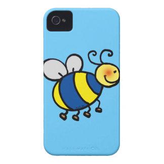 El dibujo animado lindo manosea la abeja iPhone 4 funda