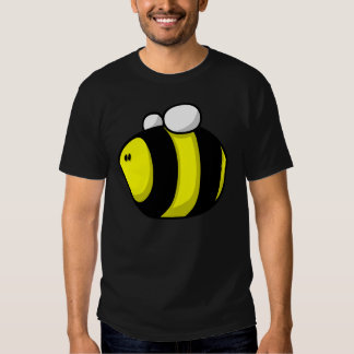 El dibujo animado manosea la abeja remeras