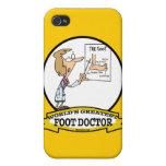 EL DIBUJO ANIMADO MÁS GRANDE DEL DOCTOR DE PIE DE  iPhone 4/4S FUNDA
