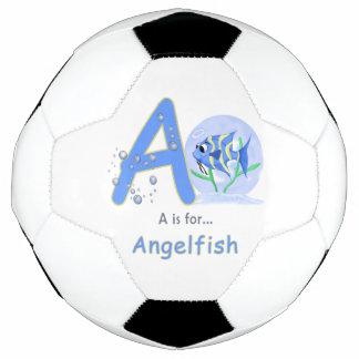 El dibujo animado único del angelfish del bebé