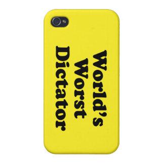 El dictador peor del mundo iPhone 4 funda