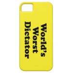 El dictador peor del mundo iPhone 5 cobertura