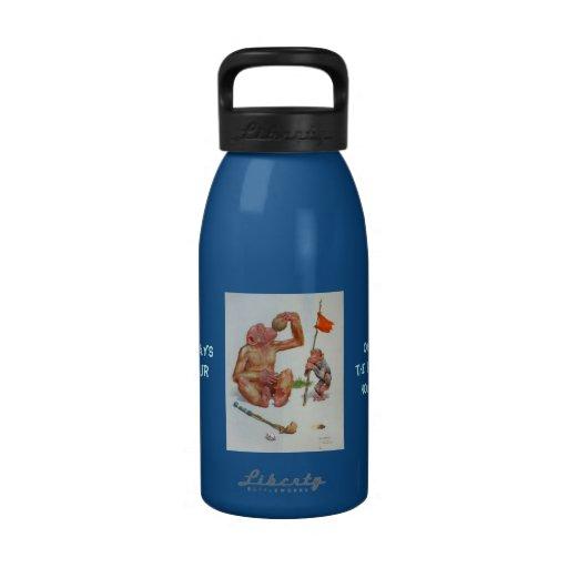 El diecinueveavo agujero botella de agua reutilizable