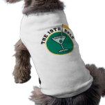El diecinueveavo agujero camiseta de perro