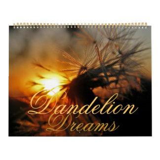 El diente de león soña el calendario 2012