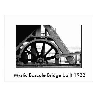 El diente místico del puente puente de báscula mí postal