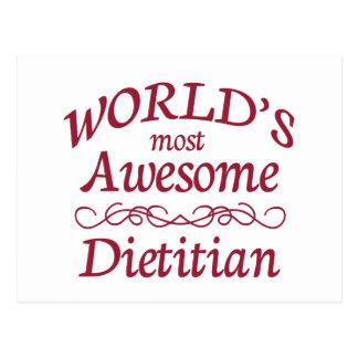 El dietético más impresionante del mundo postal