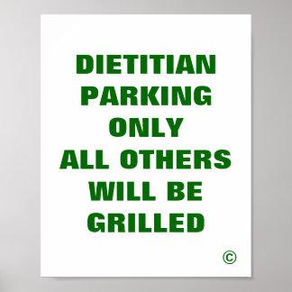 El dietético que parqueaba solamente todos los otr póster