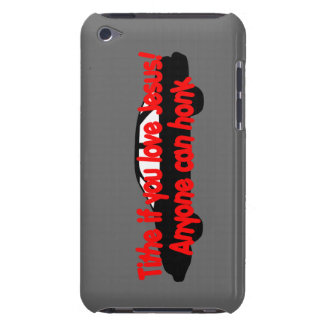 ¡El diezmo si usted ama a Jesús… cualquier persona Barely There iPod Fundas