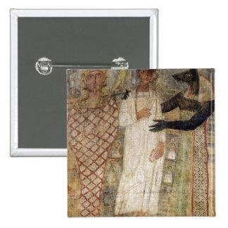 El difunto y su momia protegidos por Anubis Pins